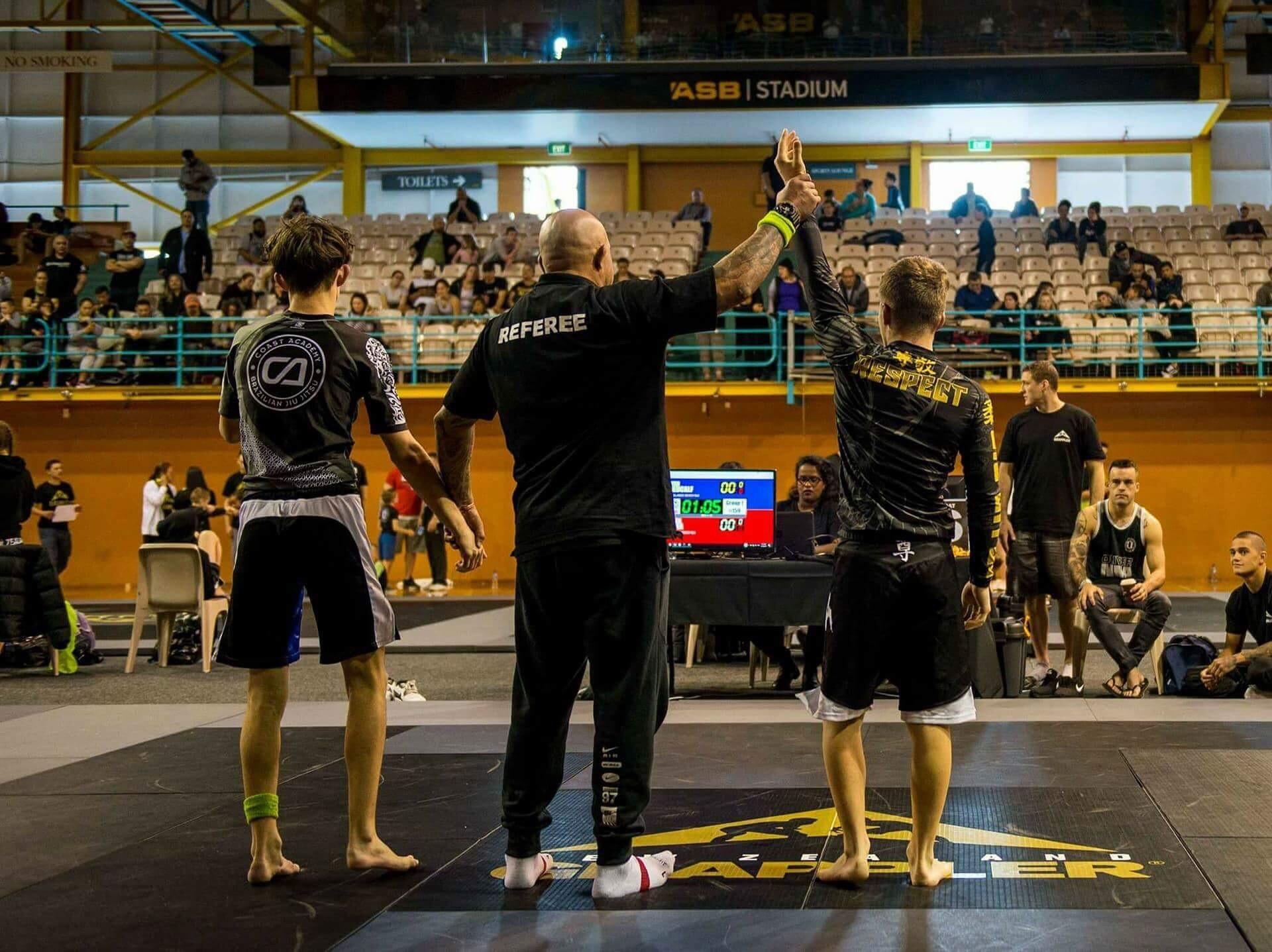 Ryan Wins Regional Brazilian Jiu-Jitsu Champs - Pakuranga