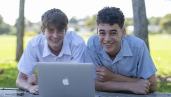 Boys with Laptop 2021
